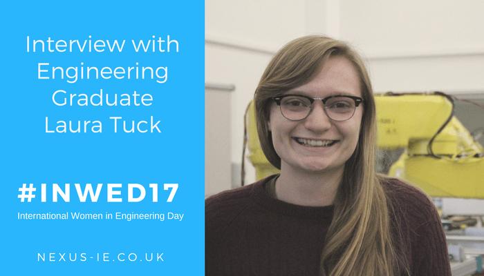 International Women in Engineering Day: Interview with Engineering Graduate Laura Tuck
