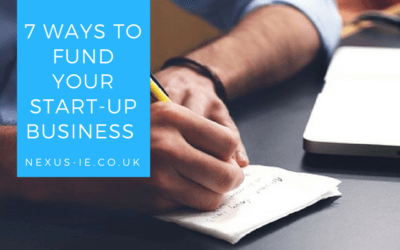 7 Ways To Fund Your Start-Up Business