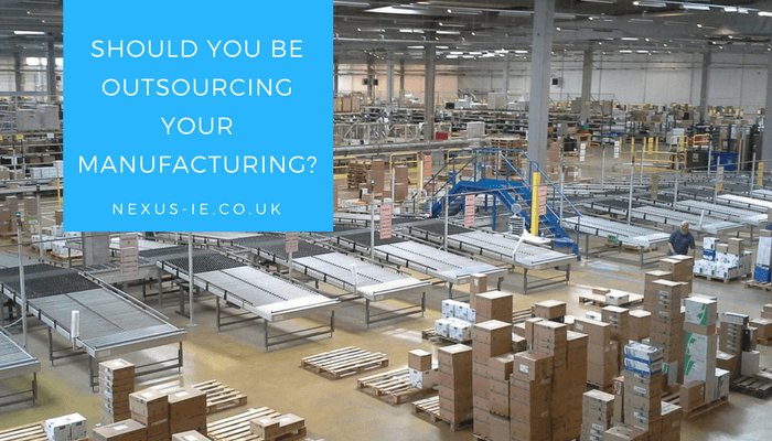 In-house Vs. Outsourcing Manufacturing